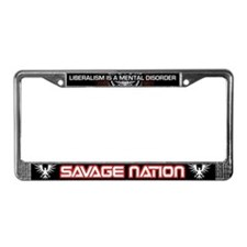 Michael Savage & Savage Nation License Plate Frame