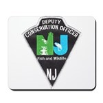 New Jersey Game Warden Mousepad