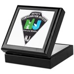 New Jersey Game Warden Keepsake Box