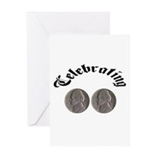 Celebrating the Double Nickle Greeting Card