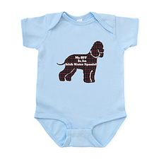 Irish Water Spaniel Infant Bodysuit