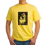 Ophelia / Pomeranian (p) Yellow T-Shirt