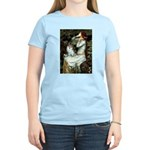 Ophelia / Pomeranian (p) Women's Light T-Shirt