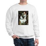 Ophelia / Pomeranian (p) Sweatshirt