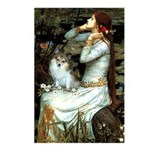 Ophelia / Pomeranian (p) Postcards (Package of 8)