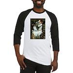 Ophelia / Pomeranian (p) Baseball Jersey