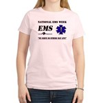 National EMS Week Gifts Women's Light T-Shirt
