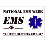 National EMS Week Gifts Small Poster
