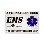 National EMS Week Gifts Rectangle Magnet (100 pack