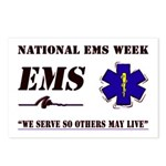 National EMS Week Gifts Postcards (Package of 8)