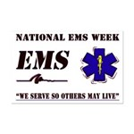 National EMS Week Gifts Mini Poster Print