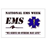National EMS Week Gifts Large Poster