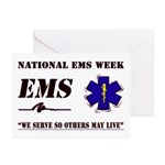 National EMS Week Gifts Greeting Cards (Pk of 10)