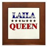 LAILA for queen Framed Tile