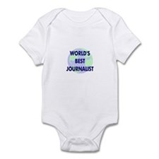 World's Best Journalist Infant Bodysuit