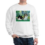 Bridge / 2 Pomeranians Sweatshirt