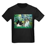 Bridge / 2 Pomeranians Kids Dark T-Shirt