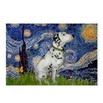 Starry Night / Dalmation Postcards (Package of 8)