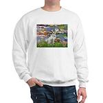 Lilies / Dalmation Sweatshirt