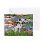 Lilies / Dalmation Greeting Cards (Pk of 20)