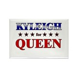 KYLEIGH for queen Rectangle Magnet