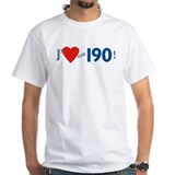 T-Shirt blanc - Mercedes 190