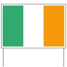 Irish Flag Yard Sign