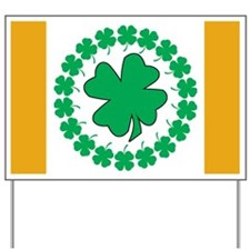 Shamrocks Yard Sign