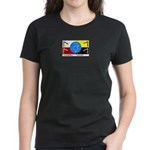Humanbeingflag Women's Dark T-Shirt
