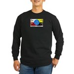 Humanbeingflag Long Sleeve Dark T-Shirt