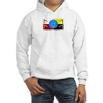 Humanbeingflag Hooded Sweatshirt