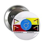 "Humanbeingflag 2.25"" Button (100 pack)"
