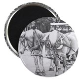 "Horse Drawing 2.25"" Magnet (100 pack)"