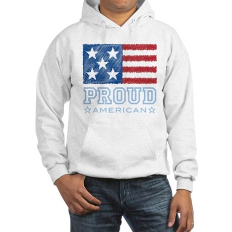Proud American Hooded Sweatshirt