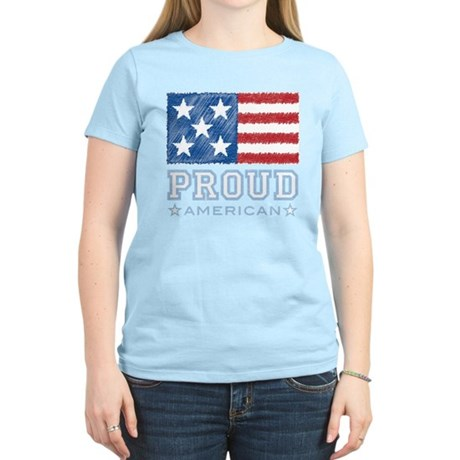 Proud American Women's Light T-Shirt