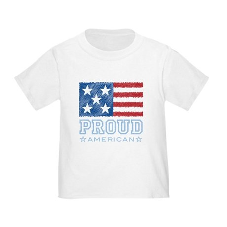 Proud American Toddler T-Shirt
