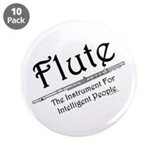 "Intelligent Flute 3.5"" Button (10 pack)"