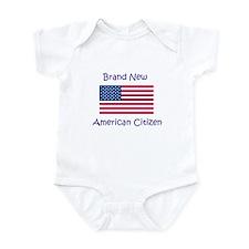 New American Citizen Infant Bodysuit
