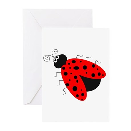 Ladybug Greeting Cards (Pk of 10)