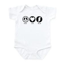 Peace Love Belize Infant Bodysuit