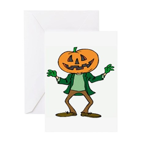 Jack O. Lantern Greeting Card
