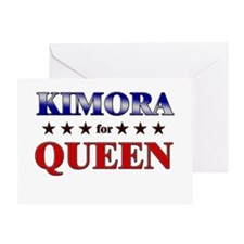 KIMORA for queen Greeting Card