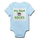 My aunt rocks Infant Bodysuit