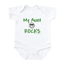My aunt rocks Infant Bodysuit