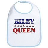 KILEY for queen Bib