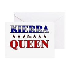 KIERRA for queen Greeting Card
