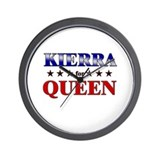 KIERRA for queen Wall Clock
