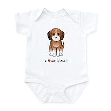 Beagle Infant Bodysuit