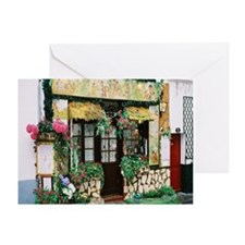 French Shop Greeting Card