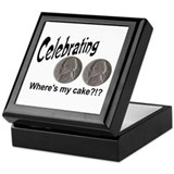 55 Cake?!?!? Keepsake Box